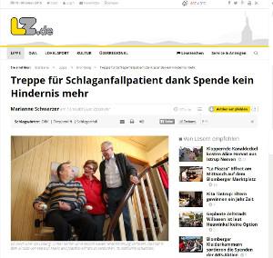 Bericht in der Lippischen Landes-Zeitung