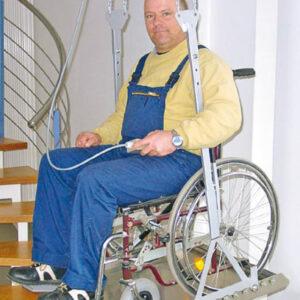 Mobilitas Hänge-Treppenlifte / Decken-Treppenlifte 6