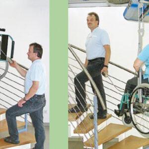 Mobilitas Hänge-Treppenlifte / Decken-Treppenlifte 7