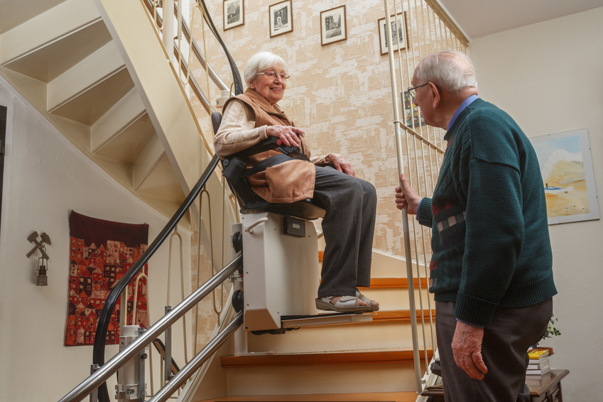 Treppenlift für jedes Treppenhaus
