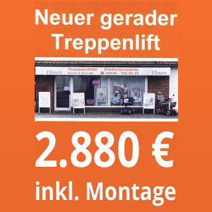 Neuer gerader Treppenlift Button